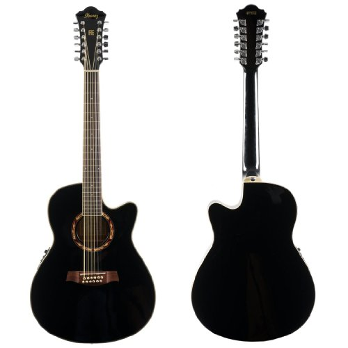 prices see ibanez aef series aef1812ebk 12 string acoustic electric guitar black pearl wheatley a5. Black Bedroom Furniture Sets. Home Design Ideas