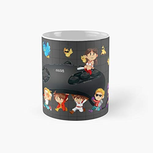 Megadrive Heroes Classic Mug Birth-day Holi-day Gift Drink Home Kitchen