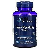 ライフエクステンション TwoPerDay トゥー・パー・デイ (Life Extension) (120 Tablets) [並行輸入品]