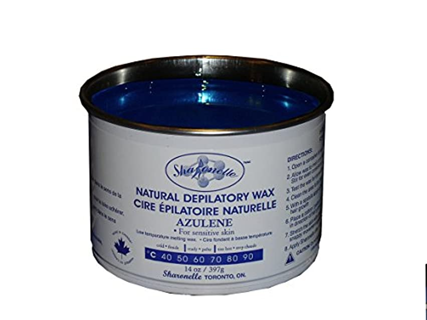 Sharonelle Natural Azulene Soft Wax For Sensitive Skin in 14 oz. - 1 can