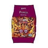 Felicia - Fusilli Vegetal - Pasta de Harina de Maíz, a Las Espinacas y Al Tomate - Sin Gluten - 500 Gramos