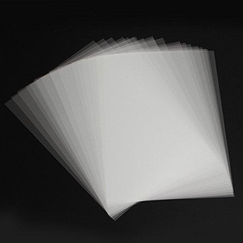 EsportsMJJ 20Stk A4 Inkjet Folien Siebdruck Papier Transparent Pcb Druckschablone