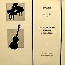 Art of The Rococo Works for Guitar and Piano Carulli: Gran Duo / Notturno / Diabelli: / Andante in C, Minuetto in F, Andante cantabile in F, Allegretto in D /Sonatina, op. 7 /Joseph Kuffner: Rondo Op. 48/Mario Sicca, Guitar, Rita Fleres, Piano