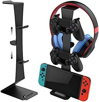MiiKARE Game Controller Stand Holder & Headphone Stand Hook