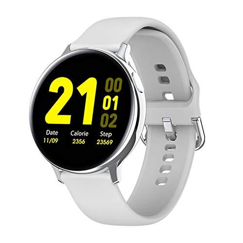 Ake Mira la Pantalla táctil Completa del ECG de los Hombres y Las Mujeres de los Hombres y Las Femeninas IP68 a Prueba de Agua a Prueba de Agua Presión Arterial Smartwatch para Android iOS,B