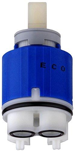 Cornat Eco Kartusche 2 Stufen Einstellung, Temperaturbegrenzer, Durchmesser 35 x Höhe 69 mm, Hebel hat eine spürbare Sperre (klick!!),Sparfunktion spart Wasser und Energie, 1 Stück, AE211
