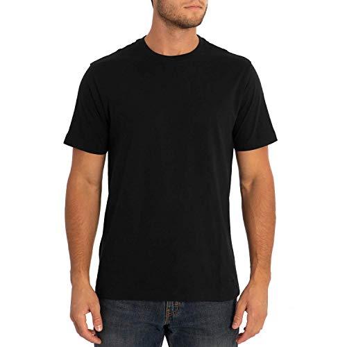 Eddie Bauer Men's Legend Wash Pro Short-Sleeve T-Shirt - Classic, Black Large