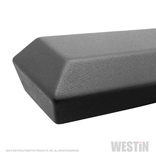 Westin HDX Drop Nerf Step Bars | Silverado/Sierra 1500 Crew Cab 2019-2020 | Silverado/Sierra 2500/3500 Crew Cab 2020 | 56-14135 | Textured Black | 1 Pair
