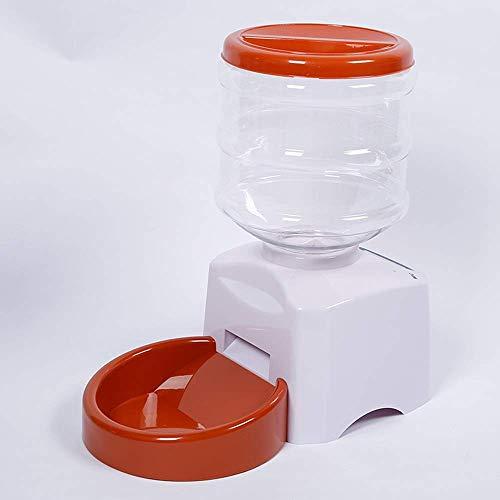 Futterautomat Großraum-dog ?? cat automatische Zuführeinrichtung Umweltschutz PP Materialgewicht dynamischen Speicher Timing quantitative Zuführung Orange Nizza aquarium
