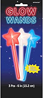 Party Star Glow Wands, 3 Ct.