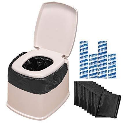 サンコー ポータブルトイレ用袋 AE-59 10回分入×5セット