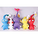 New Pikmin Plush Toy Yellow Red Blue Flower Bud Leaf Lovely Gift for Children