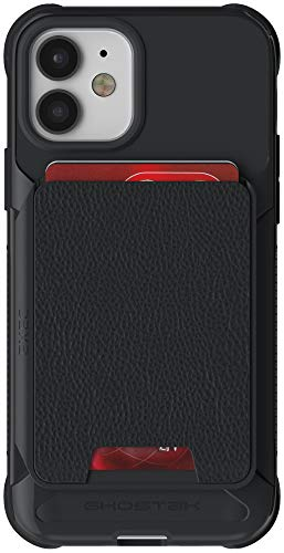 Ghostek Exec Magnetic Wallet Designed for iPhone 12 Case and iPhone12 Pro Cardholder Pocket with Built-in Magnet That's Perfect for Car Mounts 2020 iPhone12 5G and iPhone 12 Pro 5G (6.1 Inch) (Black)