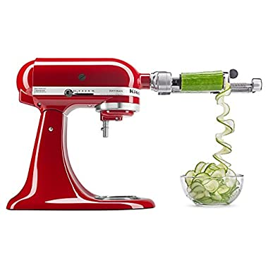KitchenAid R-KSM1APC Spiralizer Attachment with Peel, Core & Slice (CERTIFIED REFURBISHED)