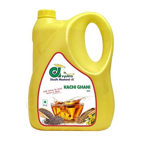 Avyukta Mustard Oil (Brown Mustard Oil) -5 L