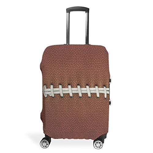 XJJ88 Fooball Texture Travel Bagage Case Protector - Cool Player Liefde Onderscheidende 4 Maten voor de meeste Trolley