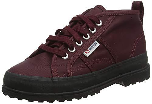SUPERGA Jungen Unisex Kinder 2754-NYLJ Alpina Klassische Stiefel, Rosso Bordeaux A77, 27 EU