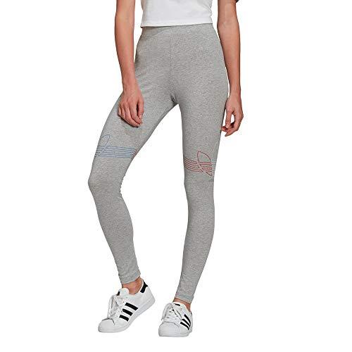 adidas GN2958 Tights Leggings Womens Medium Grey Heather 38