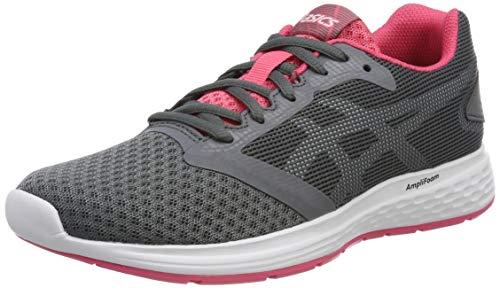 Asics Patriot 10, Zapatillas de Running Mujer, Gris (Steel Grey/White 022), 36...