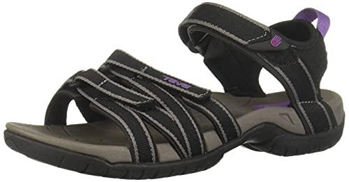 Teva Women's Tirra Sandal,Black/Grey,7 M US