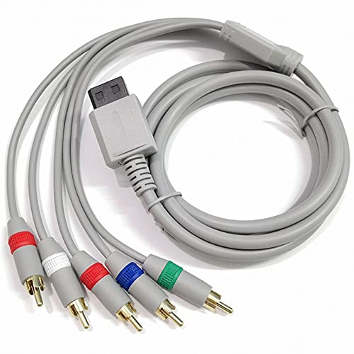 6FT AV Component Cable for Nintendo Wii/Wii U RCA...