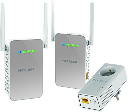 Netgear PLP1200 100FRS Adattatore CPL 1000 Mbps, Bianco [Versione Francese]