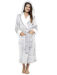 LUXURY AT IT'S BEST: Our Super Soft Premium Dressing Gown for Women has been specially designed to provide you with the ultimate luxurios comfort. Made with pockets for practicality, you'll want to wear it everywhere. ULTIMATE COMFORT: Crafted with p...