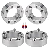 4PCS 4x137 to 4x137 ATV Wheel Spacers, 2 inch 4x137 Wheel Spacer with 10x1.25 Studs for CAN-AM Bombardier Outlander Commander Kawasaki Mule