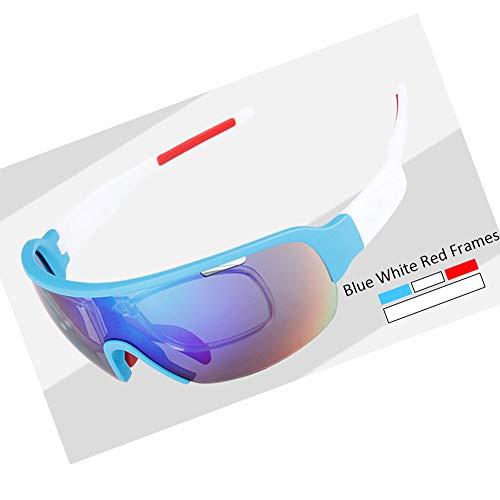MINI SHOW Gafas de Ciclismo, POC anteojos de Deporte, Lentes Intercambiables (con...