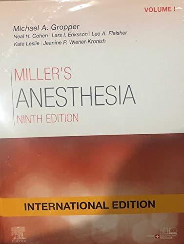 MILLER'S ANESTHESIA (2VOLS) INTERNATIONAL EDITIOn
