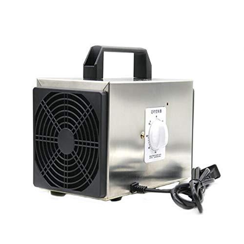 Raxinbang Purificador de Aire Ozono Purificador Portátil Generador De O3 Industrial Purificador De Aire Desodorante del Esterilizador del Acero Inoxidable Comercial Ozono Máquina De Aire Desodor