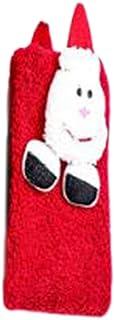 newwyt, Calcetines de Navidad para niños y adultos, diseño de muñeco de dibujos animados