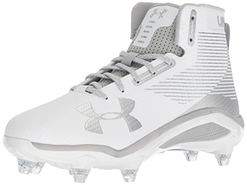 Under Armour Men's Hammer Detachable Football Shoe, White, Size 13.0 US 12.5 U US