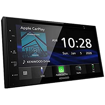 Kenwood DDX5707S 6.8  Capacitive Screen DVD Receiver with Car Play Android Auto and Bluetooth
