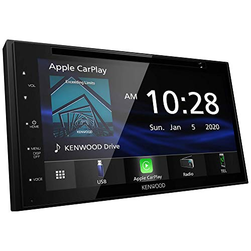 """Kenwood DDX5707S 6.8"""" Digital Media Receiver with Apple CarPlay and Android Auto"""