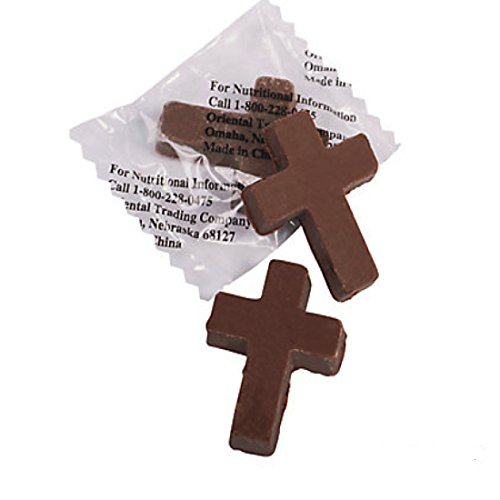 Chocolate Candy Crosses 91 Pieces Easter Candy