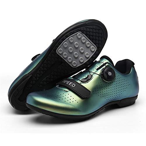 gaodpz MTB SPD Zapatos de la Grapa del Conjunto de Pedales Profesional...