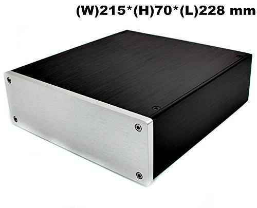 Nobsound® Aluminum Amplifier Enclosure/HiFi DAC Chassis/Preamp PSU Case/Amplificador de Montar Blank Caja DIY Caja House Mini Size 215* 70* 228geramny Warehouse