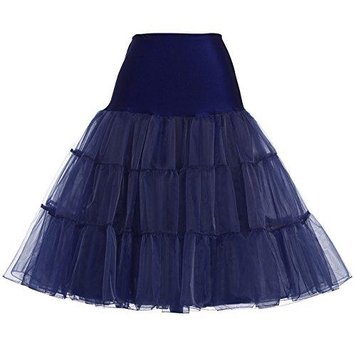 GRACE KARIN underskirt women rockabilly petticoat reifrock für brautkleid unterrock 2X CL8922-8