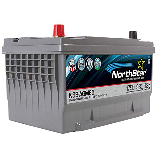 NORTHSTAR Pure Lead Automotive Group 65 Battery NSB-AGM65
