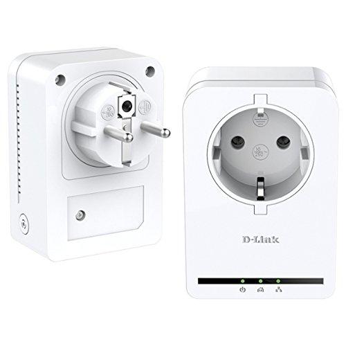 D-Link - DHP-P309AV Kit de 2 Adaptateurs CPL avec prise intégrée Ethernet 200 Mbps Blanc - Modèle Allétoire
