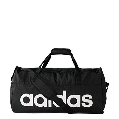 adidas Sporttasche Linear Team M, schwarz, 57 x 22 x 30 cm, 38 Liter