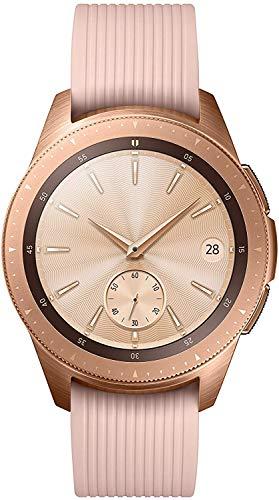 Samsung Galaxy - Reloj inteligente, Bluetooth, Dorado, 42 mm [Versión alemana: Podría presentar problemas de compatibilidad]