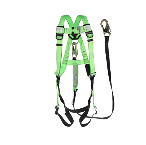 small Peakworks Fall Prevention Harness-Whole Body, Industrial, ANSI Compliant, …