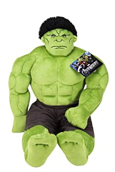 Jay Franco Avengers Plush Stuffed Hulk Pillow Buddy - Super Soft Polyester Microfiber 23 inch  Official Marvel Product