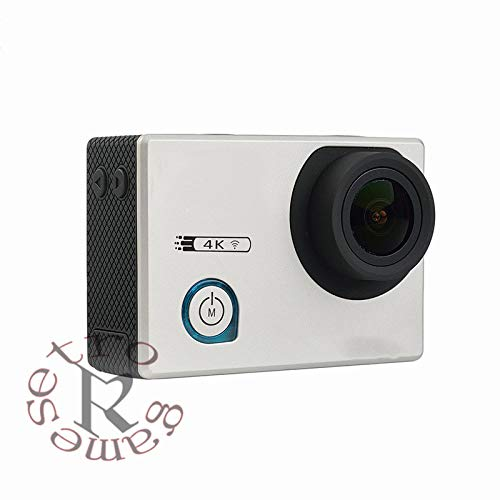 ZYJANO Caméra Sport Caméra de Sport Action 4K 24fps WiFi Gyro Réglable Angles de Vision NTK96660 30M Sport étanche DV Action Cam