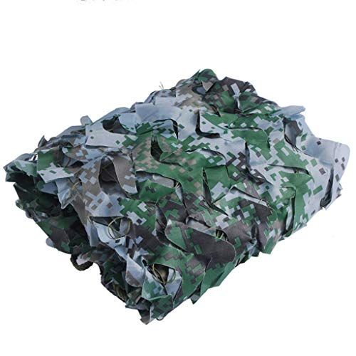 ZHJBD Camouflage-net, Woodland Military parasol, jacht, camping, rolluiken, zonwering 3x4m