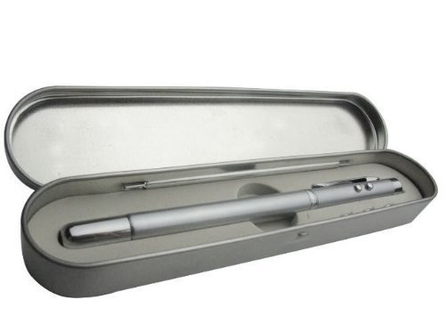 Smart Pro 4-in-1 Extendable Fescue Ball Pen with LED Flashlight and Laser Pointer