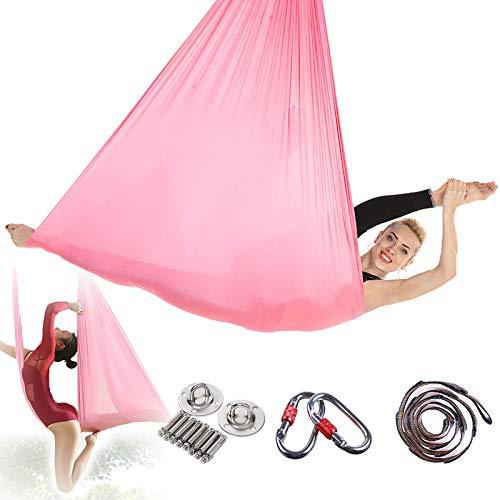 Yoga Hangmat Afslanken, Yoga Hangmat Swing Stoere Textuur, Yoga Inversion Swing, Scheurweerstand Van Stof, Stress Loslaten, Niet Vervagen