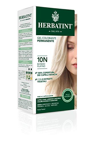 Herbatint 10N Platinum Blonde Permanent Herbal Hair Colour Gel 150 ml